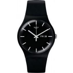 Orologio Unisex Swatch New Gent Mono Black SUOB720
