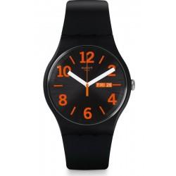 Orologio Unisex Swatch New Gent Orangio SUOB723