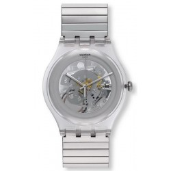 Orologio Unisex Swatch New Gent Cleared Up L SUOK105FA