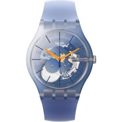 Orologio Unisex Swatch New Gent All That Blues SUOK150