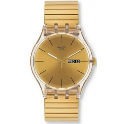 Orologio Unisex Swatch New Gent Dazzling Light L SUOK702A