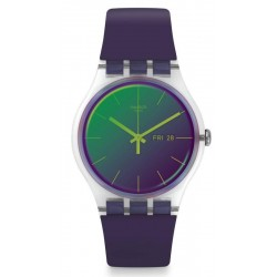 Orologio Donna Swatch New Gent Polapurple SUOK712
