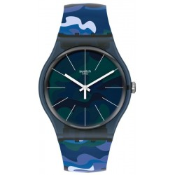 Orologio Unisex Swatch New Gent Camouclouds SUON140