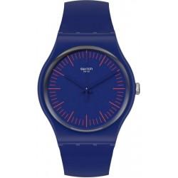 Orologio Unisex Swatch New Gent Bluenred SUON146