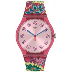 Orologio Donna Swatch New Gent Dhabiscus SUOP112