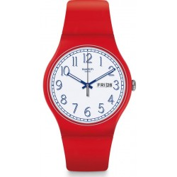 Orologio Unisex Swatch New Gent Red Me Up SUOR707