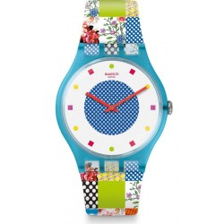Orologio Donna Swatch New Gent Quilted Time SUOS108