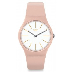 Orologio Donna Swatch New Gent Beigesounds SUOT102