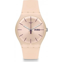 Orologio Donna Swatch New Gent Rose Rebel SUOT700