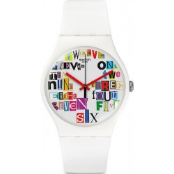 Orologio Unisex Swatch New Gent Multi Collage SUOW132