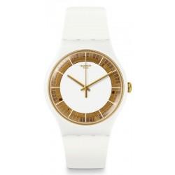 Orologio Donna Swatch New Gent Siliwhite SUOW158