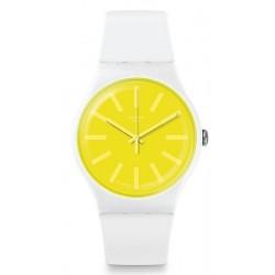 Orologio Unisex Swatch New Gent Lemoneon SUOW165