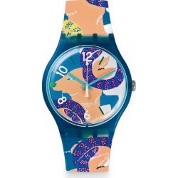 Orologio Unisex Swatch New Gent The Goat's Keeper SUOZ189