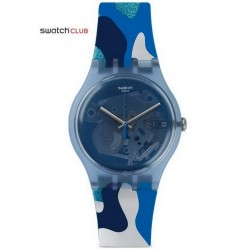 Orologio Unisex Swatch Club New Gent Silverscape SUOZ215