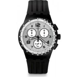 Orologio Uomo Swatch Chrono Plastic Nocloud SUSB103 Cronografo