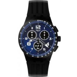 Acquistare Orologio Unisex Swatch Chrono Plastic Nitespeed SUSB402 Cronografo