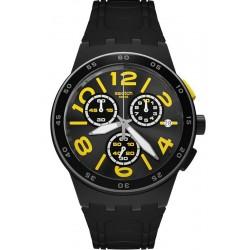 Orologio Unisex Swatch Chrono Plastic Pneumatic SUSB412 Cronografo
