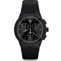Orologio Uomo Swatch Chrono Plastic X-District Black SUSB413 Cronografo