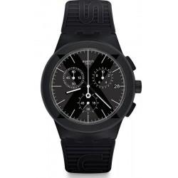Acquistare Orologio Uomo Swatch Chrono Plastic X-District Black SUSB413 Cronografo