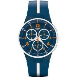 Acquistare Orologio Uomo Swatch Chrono Plastic Whitespeed SUSN403 Cronografo