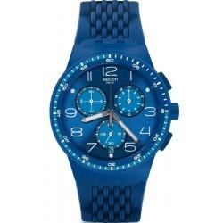 Acquistare Orologio Unisex Swatch Chrono Plastic Triple Blu SUSN415 Cronografo