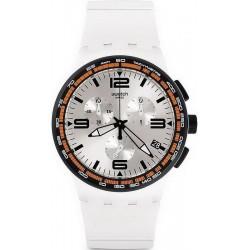 Acquistare Orologio Unisex Swatch Chrono Plastic White Blades SUSW405 Cronografo