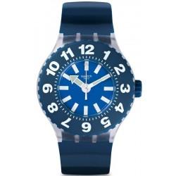 Orologio Uomo Swatch Scuba Libre Die Blaue SUUK112