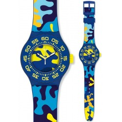 Orologio Unisex Swatch Scuba Libre Out In The Wild SUUN101