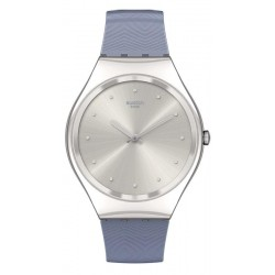 Orologio Donna Swatch Skin Irony Blue Moire SYXS134