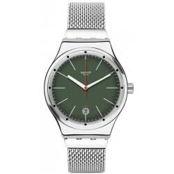 Orologio Swatch YIS407G Irony Sistem 51 Sistem Kaki Automatico Unisex