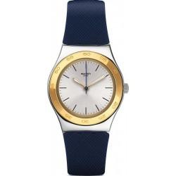 Orologio Donna Swatch Irony Medium Blue Push YLS191
