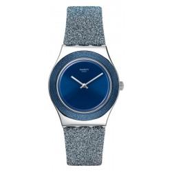 Acquistare Orologio Donna Swatch Irony Medium Blue Sparkle YLS221
