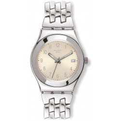 Acquistare Orologio Donna Swatch Irony Medium Follow Ways Cream YLS441G