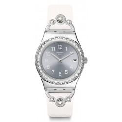 Orologio Donna Swatch Irony Medium Pretty In White YLS463