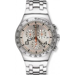 Orologio Uomo Swatch Irony Chrono Shiny Addict YOS445G Cronografo