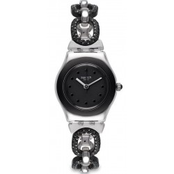Acquistare Orologio Donna Swatch Irony Lady Black Glitter YSS293G
