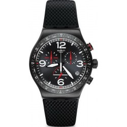 Orologio Uomo Swatch Irony Chrono Black Is Back YVB403 Cronografo