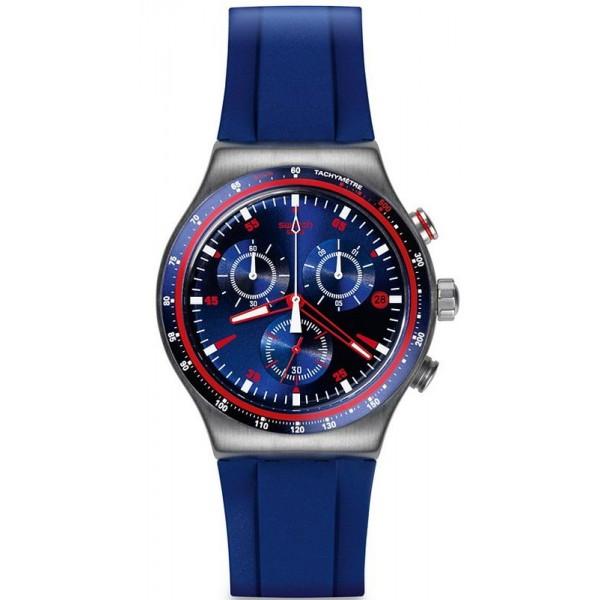 Acquistare Orologio Uomo Swatch Irony Chrono Hookup YVS417 Cronografo