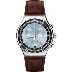 Orologio Uomo Swatch Irony Chrono Stock Xchange YVS429 Cronografo