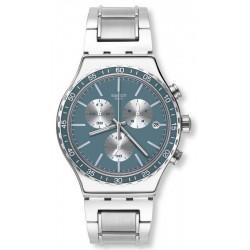 Orologio Unisex Swatch Irony Chrono Ironfreeze YVS438G Cronografo