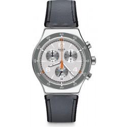 Orologio Uomo Swatch Irony Chrono Last Round YVS446 Cronografo