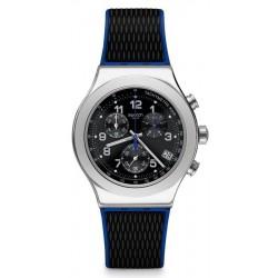 Orologio Uomo Swatch Irony Chrono Secret Mission YVS451 Cronografo