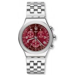 Orologio Unisex Swatch Irony Chrono Secret Doc YVS456G Cronografo
