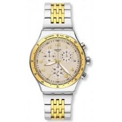 Orologio Unisex Swatch Irony Chrono Casual Chic YVS467G Cronografo
