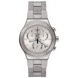 Orologio Unisex Swatch Irony Chrono Silver Explosion YVS472G Cronografo