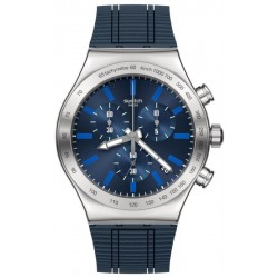 Orologio Uomo Swatch Irony Chrono Electric Blue YVS478 Cronografo