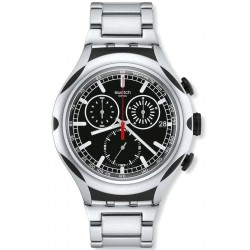 Orologio Uomo Swatch Irony Xlite Black Energy YYS4000AG Cronografo