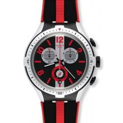 Orologio Uomo Swatch Irony Xlite Stripes YYS4013 Cronografo