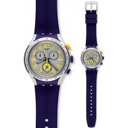 Orologio Uomo Swatch Irony Xlite Yellow Pusher YYS4014 Cronografo