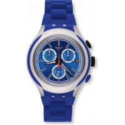 Orologio Uomo Swatch Irony Xlite Blue Attack YYS4017AG Cronografo